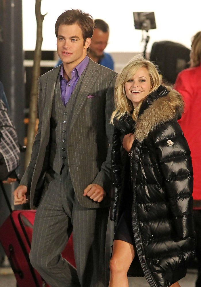 Chris Pine And Reese Witherspoon Photos Photos Reese