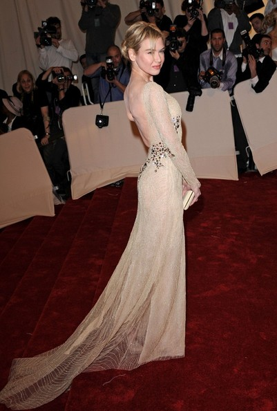 Renee Zellweger - 2011 MET Costume Institute Gala.