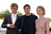 'Restless' photocall at the Palais des Festivals during the 64th Cannes Film Festival.