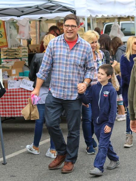 Rich Sommer At The Farmer's Market In Studio City []