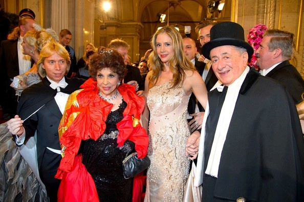 Richard Lugner Vienna Opernball 2013.