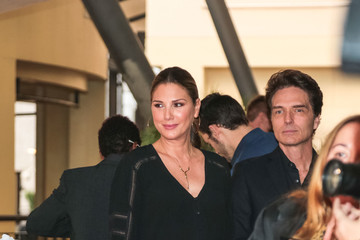 Richard Marx Daisy Fuentes And Richard Marx Outside Dolby Theatre