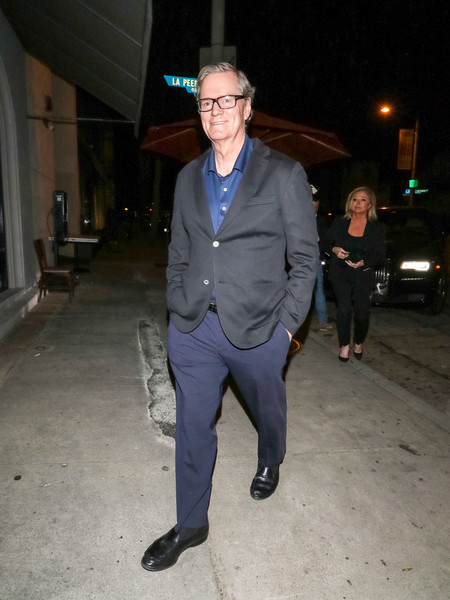 Rick Hilton Outside Craig's Restaurant In West Hollywood