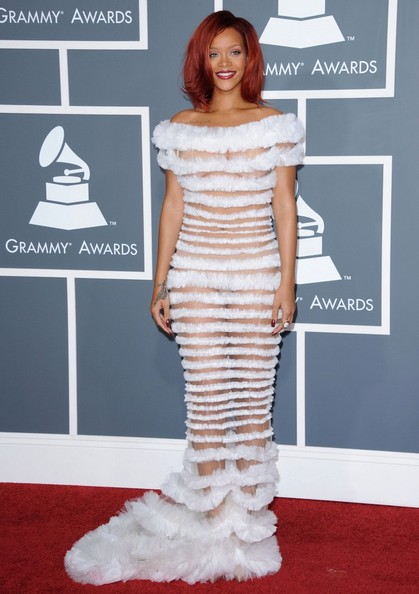 Rihanna The 53rd Annual GRAMMY Awards.Staples Center, Los Angeles, CA.February 13, 2011.