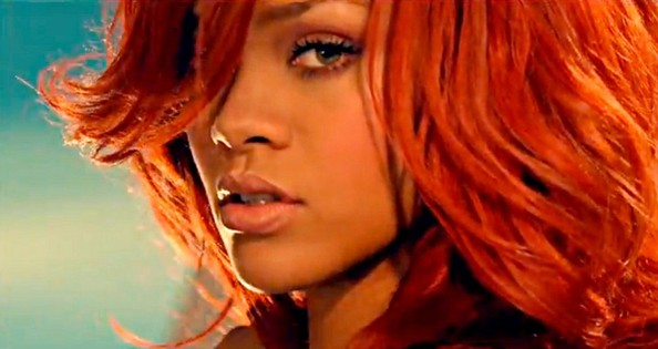 Stupendous Rihanna In Rihanna Performs In A New Music Video Zimbio Hairstyle Inspiration Daily Dogsangcom