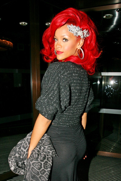Image result for rihanna 2010 red hair