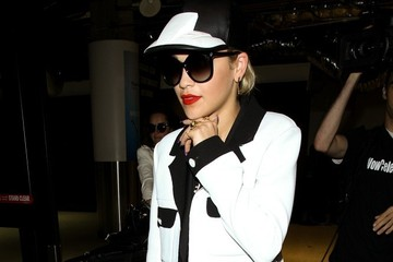 Rita Ora Rita Ora Arrives at LAX