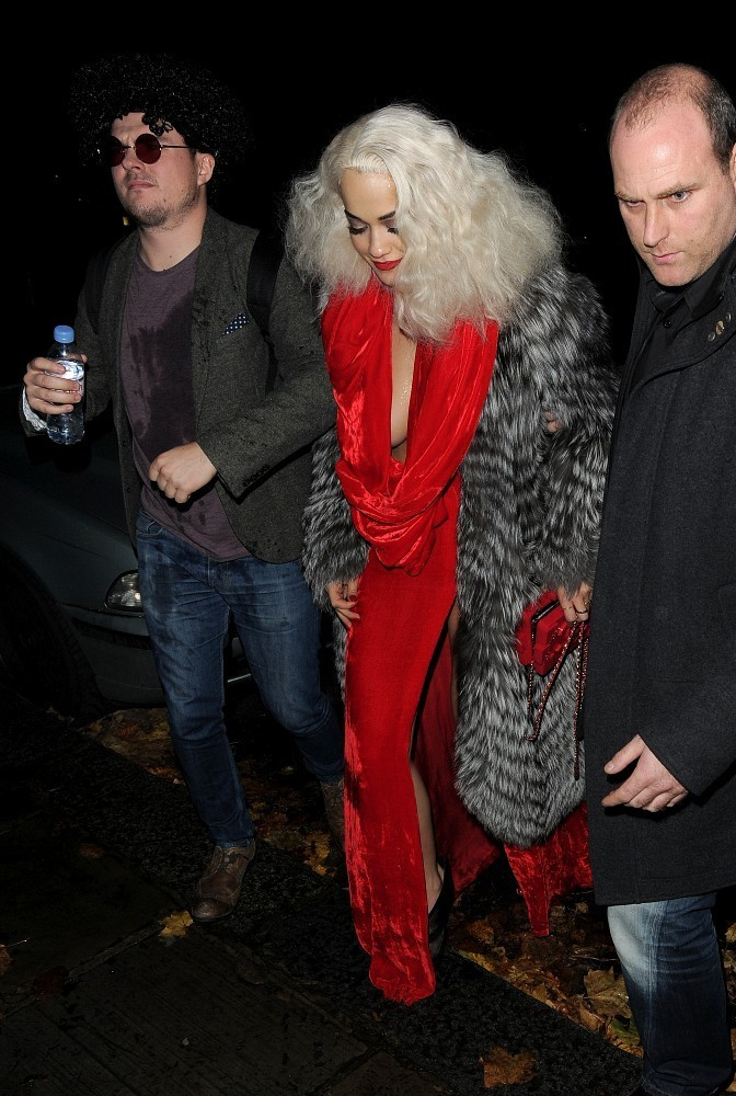 Rita Ora's Birthday Party at The Box
