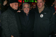 Robert De Niro and Joe Pesci help old pal Martin Scorsese celebrate his 75th birthday in New York City while filming their newest collaboration, 'The Irishman.' The three haven't made a movie together since 1995's 'Casino.'