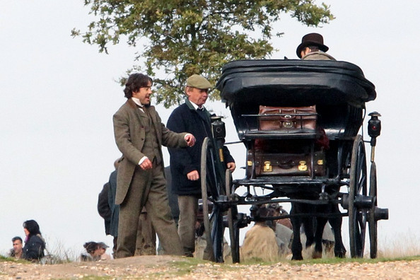 Robert Downey Jr. Guy Ritchie directs Jude Law and Robert Downey Jr. in the sequel of his successful 'Sherlock Holmes' film.