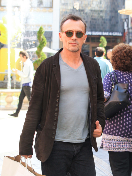 Robert Knepper Spotted at The Grove