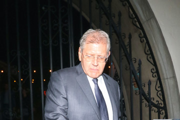 Robert Zemeckis Robert Zemeckis Outside The Hearth And Hound Restaurant In Hollywood