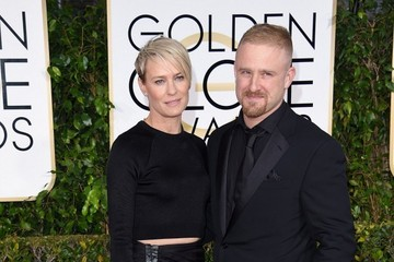 Robin Wright Arrivals at the Golden Globe Awards