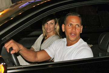 Cynthia Scurtis Alex Rodriguez With the Family