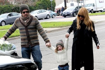 Roger Berman Rachel Zoe Takes Her Family to the Market
