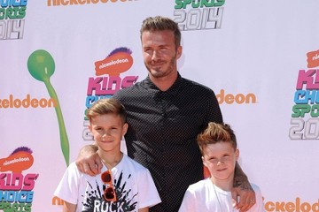 Romeo Beckham Arrivals at the Nickelodeon's Kids' Choice Sports