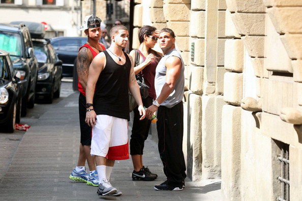 photos of jersey shore cast in italy. Jersey Shore cast Mike #39;The