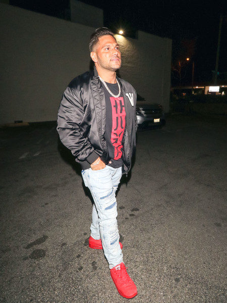 Ronnie Ortiz-Magro outside Delilah Nightclub in West Hollywood