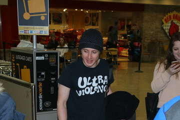 Rory Culkin Celebrities at the Salt Lake City Airport