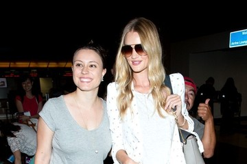 Rosie Huntington-Whiteley Rosie Huntington Whiteley Arrives at LAX