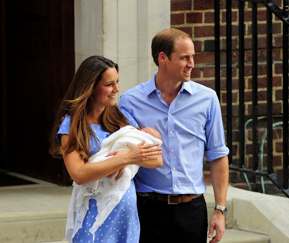 The Royal Baby Leaves The Hospital