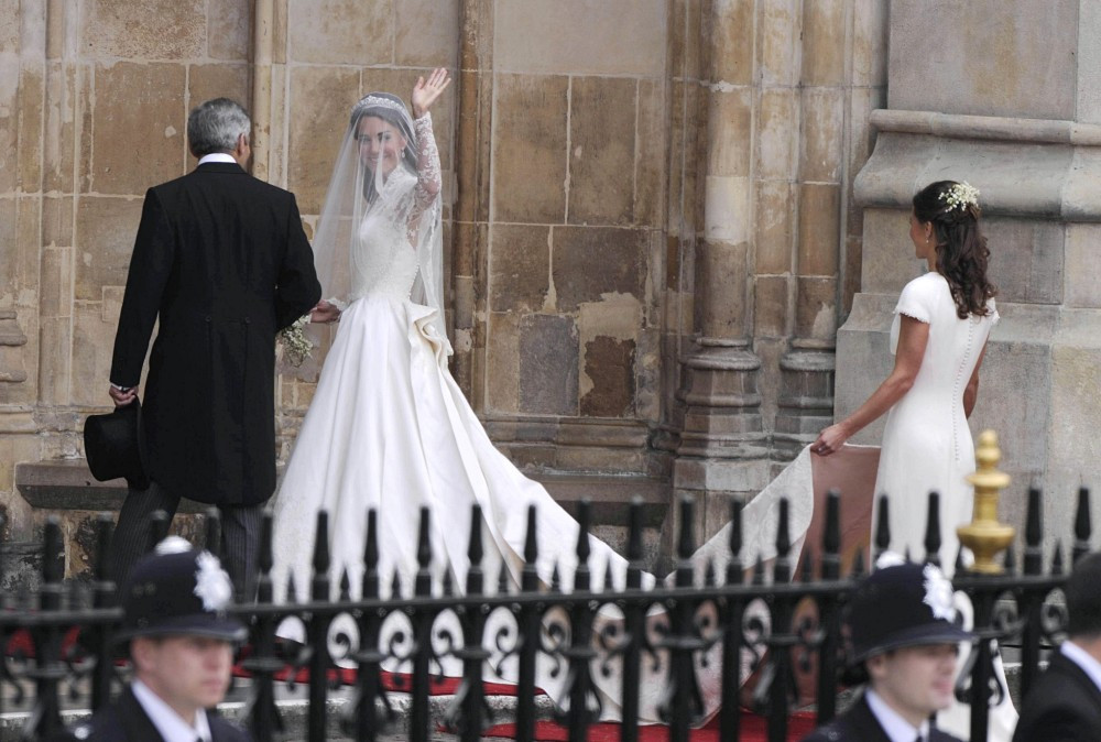 Kate Middleton And Pippa Photos Arrives At Westminster Abbey Zimbio