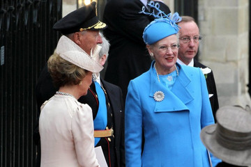 Queen Margrethe Royal Wedding: Guests and the Newlyweds