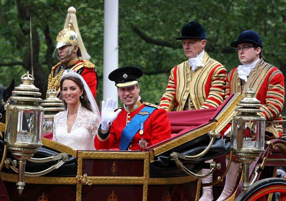 prince william in royal wedding the carriage ride zimbio