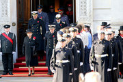 The Royal Family attends the 2011  Remembrance Sunday Service held at The Cenotaph, Whitehall.