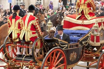 Prince Harry of Wales Royals arrive at Buckingham Palace