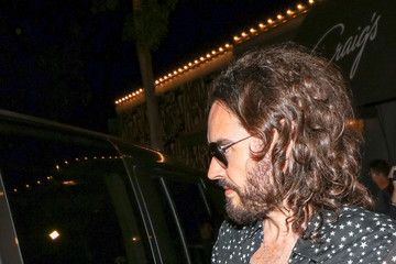 Russell Brand Russell Brand Is Seen Outside Craig's Restaurant