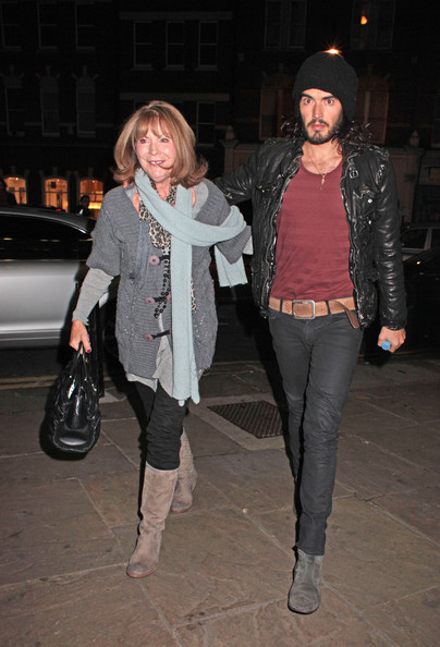 Russell Brand Stars and Their Moms