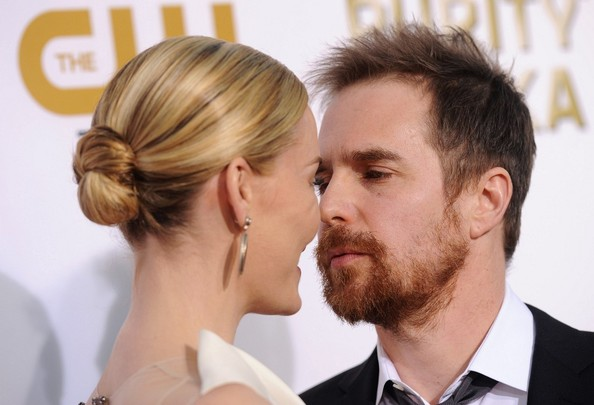 Sam Rockwell and Leslie Bibb Photos - Arrivals at the Critics ...