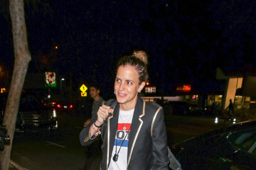 Samantha Ronson Samantha Ronson Outside Delilah Nightclub In West Hollywood