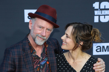 Sarah Clarke AMC Celebrates The 100th Episode of 'The Walking Dead'
