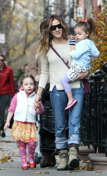Sarah jessica parker out with the kids pictures zimbio for Adam broderick salon reviews