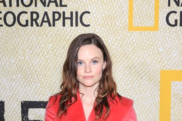 Sarah Ramos Premiere of National Geographic's 'The Long Road Home'