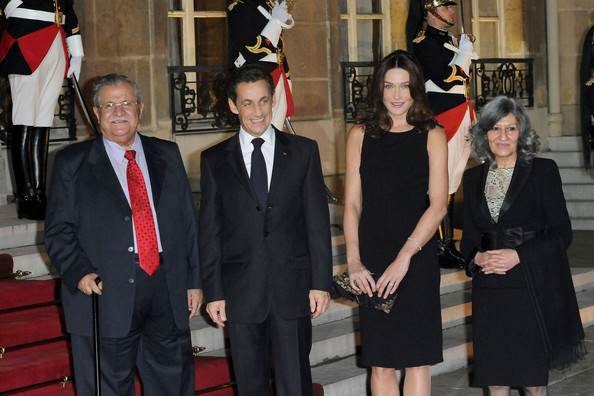 ���� ������������� ����������� ����� Sarkozy Talabani dine together cEKc08HPOmTl.jpg