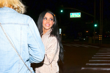 Scheana Marie Scheana Marie Is Seen Outside Craig's Restaurant In West Hollywood