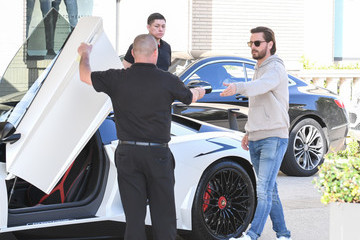 Scott Disick Scott Disick And Sofia Richie In Los Angeles