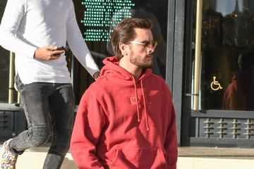 Scott Disick Scott Disick at Barneys New York
