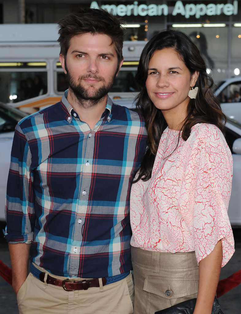 "Adam Scott and Naomi Sablan Photos Photos - ""Scott Pilgrim ..."