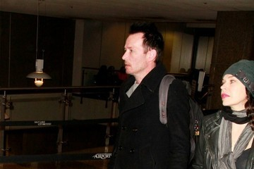 Scott Weiland Celebs Spotted at the Salt Lake City Airport