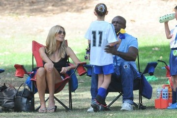 Seal Heidi Klum and Seal Are Friendly Exes