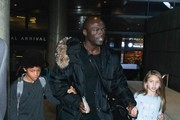 Seal and and Family at LAX