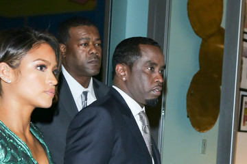 Sean Combs Cassie Ventura and Sean P DIDDY Combs at ArcLight Theatre
