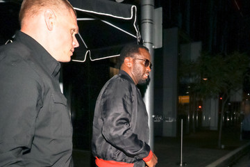 Sean Combs Sean Combs Enters Avra Restaurant In West Hollywood