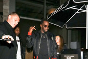 Sean Combs Enters Avra Restaurant In West Hollywood