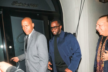 Sean Combs Cassie Ventura And Sean Combs Outside Craig's Restaurant In West Hollywood