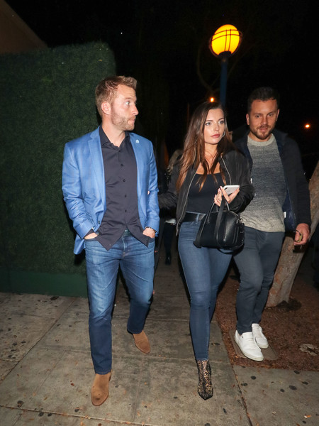 Sean McVay Outside Delilah Nightclub In West Hollywood